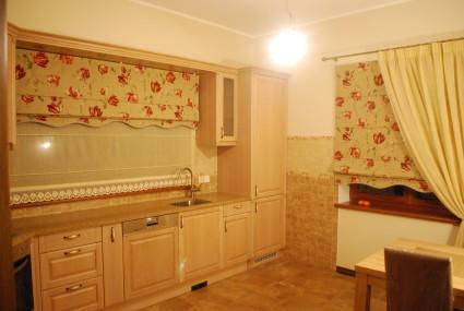 flower curtains for kitchen windows