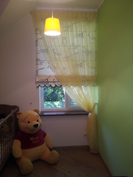 Римские шторы в детскую комнату