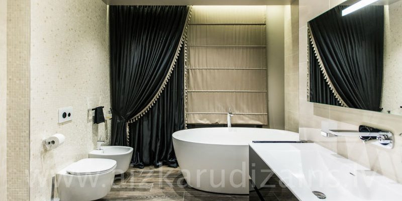 aizkari vannas istabai