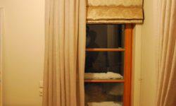 linen door curtains