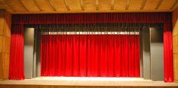 skatuves aizkari Grenctāles kultūras namā