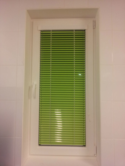 horizontal aluminum window blinds