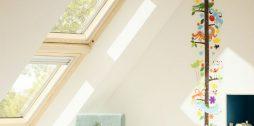 Velux žalūzijas jumta logiem