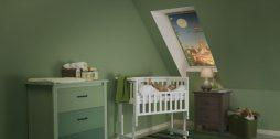 bērnu istabas žalūzijas Velux