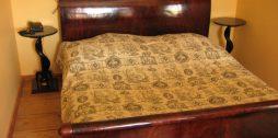 gultas pārvalks Kukšu muižā