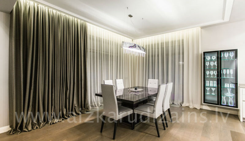 Dinning room curtains