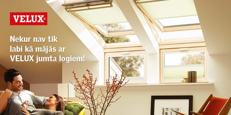 VELUX jumta logi, slēģi un saulessargi
