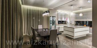 virtuves ēdamzonas aizkari